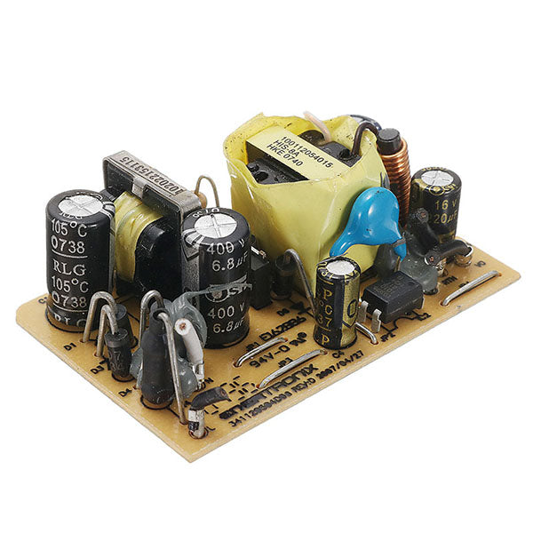 5pcs AC-DC 12V 0.5A 6W Switching Power Bare Board For LED Stage Light AC 100-240V To DC 12V