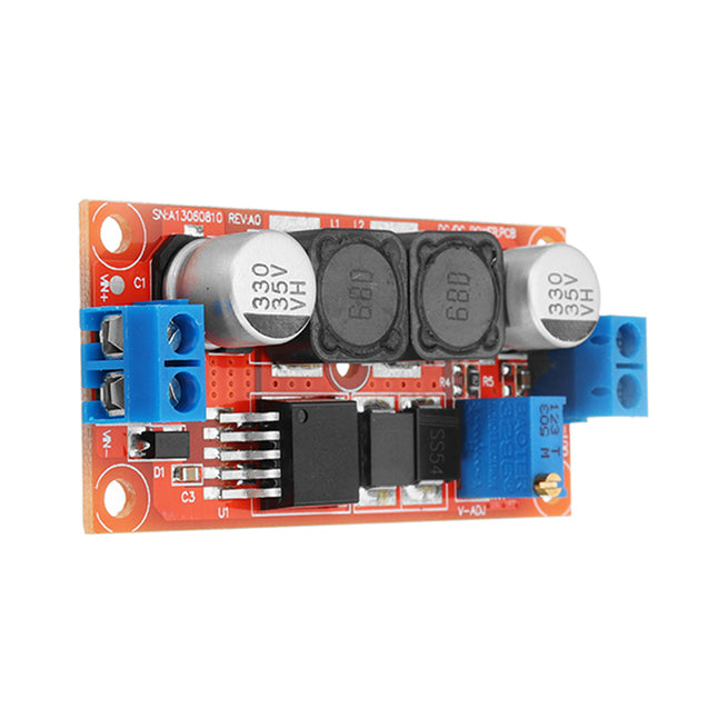 3pcs Enhanced Version 5A High Current DC-DC Step Down Power Module 5-38V To 1.25-36V