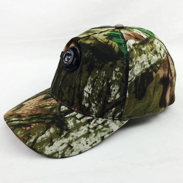 Outdooors Night Fishing Cap With Head Light Camouflage Camping Fishing Hunting Headlamp Light Hat
