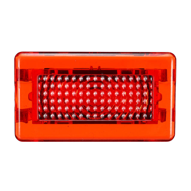4 SMD LED Door Side Warning Signal Light High Output Interior Flash Lamp Red Upgrade 2PCS for Tesla Model S X