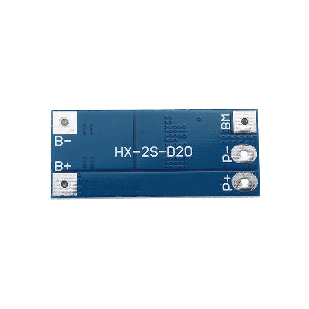 2S 10A 7.4V 8.4V 18650 Lithium Battery Protection Board Balanced Function Overcharged Protection