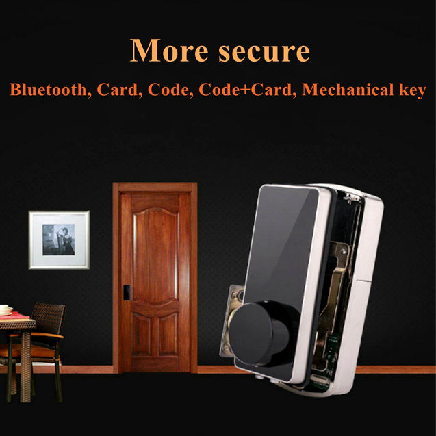 Bluetooth Smart Digital Door Lock Home Security Lock Keyless Touch Password Dead Bolt