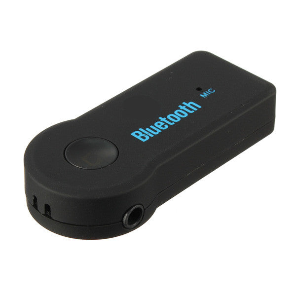 3.5mm Bluetooth V3.0+EDR Music Streaming Stereo Audio Receiver Adapter Mic