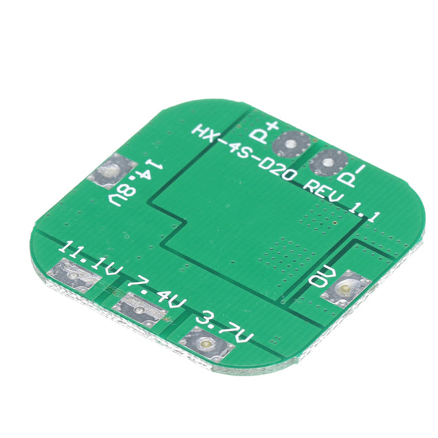 5pcs 4S 14.8V 16.8V 20A Peak Li-ion BMS PCM Battery Protection Board BMS PCM for Lithium LicoO2 Limn2O4 18650 LI Battery