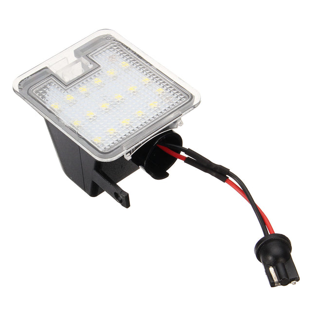 LED Under Side Mirror Puddle Light Red for Ford Mondeo MK4 Focus Kuga Escape C-Max