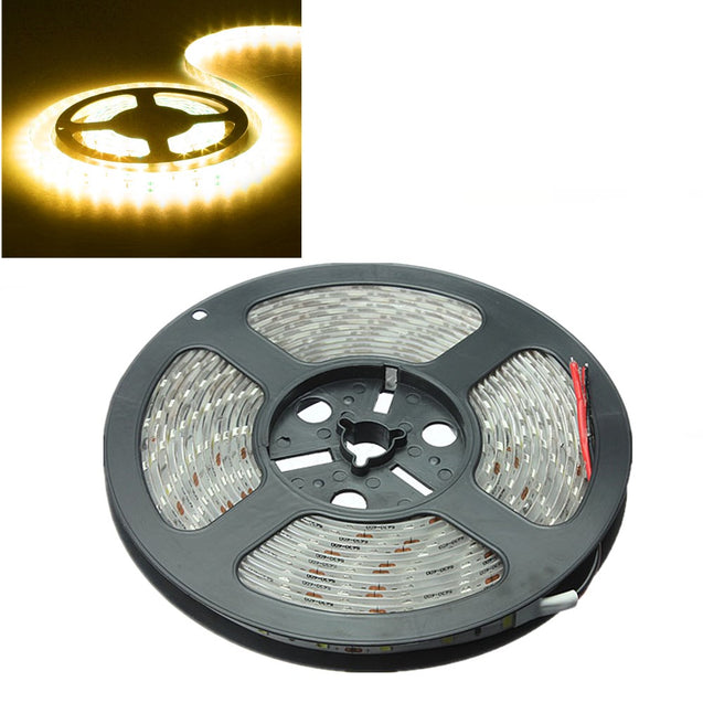 3X 5M 300 SMD 5630 Warm White LED Strip Light DC 12V Waterproof IP65