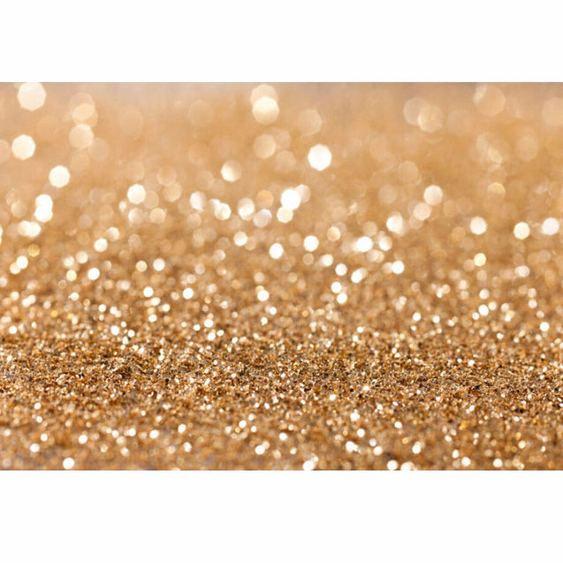 7x5ft 2.1x1.5m Vinyl Golden Glitter Sequin Theme Photography Backdrop Photo Studio Background