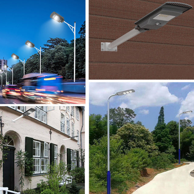 60W 180LED Solar Powered Lamp PIR Motion Sensor Outdoor Garden Street Light for Outdoor Road Garden
