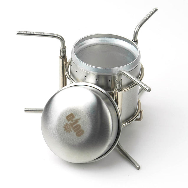 Camping Picnic Spirit Alcohol Cooking Stove Combustor Portable Stainless Steel BBQ Burner Furnace