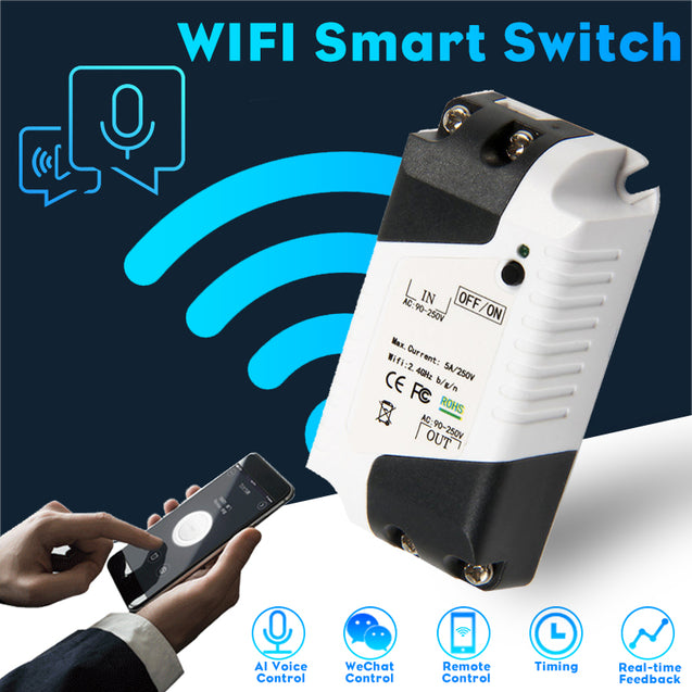 Smart Home WiFi Wireless Switch Module For IOS Android APP Control