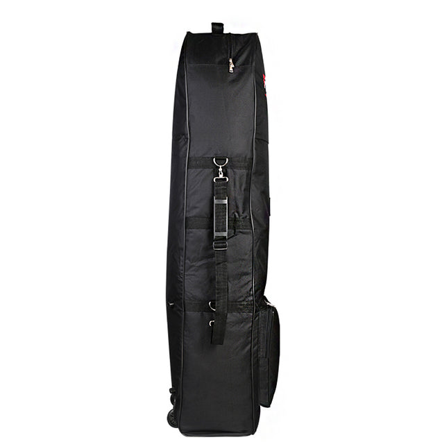 130x36x25cm Nylon Golf Aviation Bag Waterproof Portable Folding Travel Bag Cover with Wheels