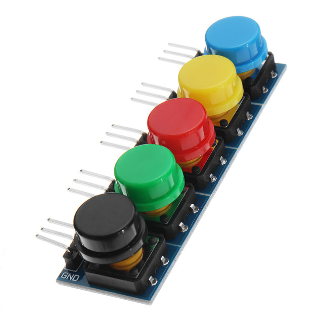 12x12MM Big Key Module WAVGAT Push Button Switch Module With Hat High Level Output