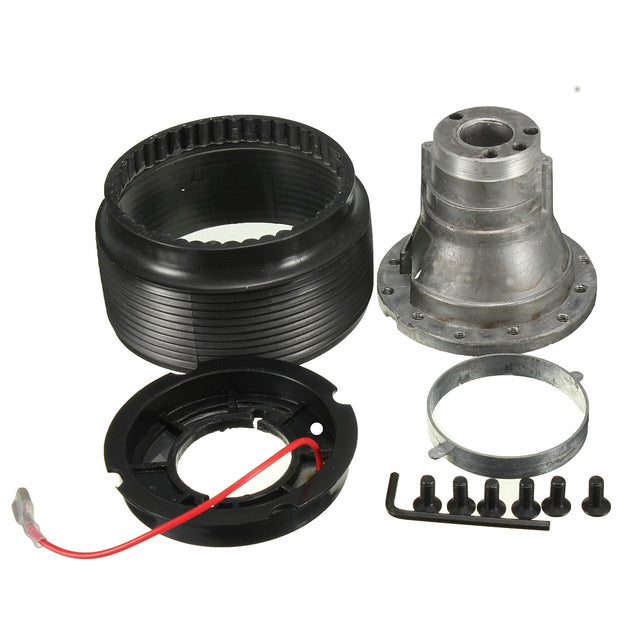 Steel Ring Wheel Racing Quick Release Snap Off Hub Adapter Boss Kit For TOYOTA