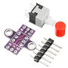 30pcs CJMCU-010 With Lock Button Self-locking Switch Double Row Switch Module