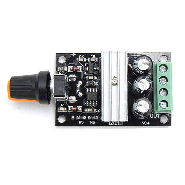 3Pcs Geekcreit PWM DC Motor Speed Controller Speed Switch Module 6V/12V/24V/28V 3A 1203B