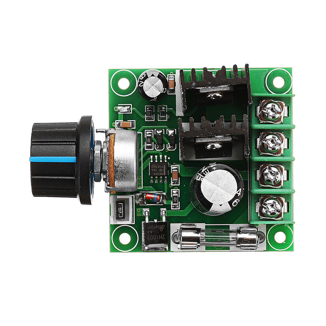 3Pcs DC 9V To 50V 10A Stepless Adjustable PWM DC Motor Speed Controller Module With Knob