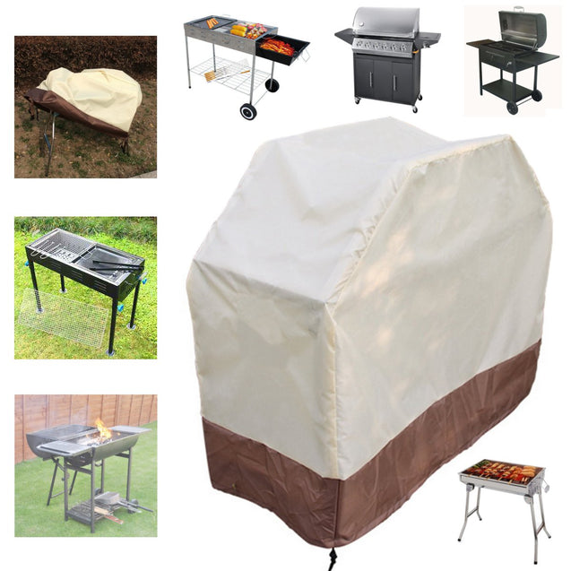 180x56x110cm BBQ Grill Gas Barbecue Waterproof Covers Garden Outdoor Cooking Rain Protector