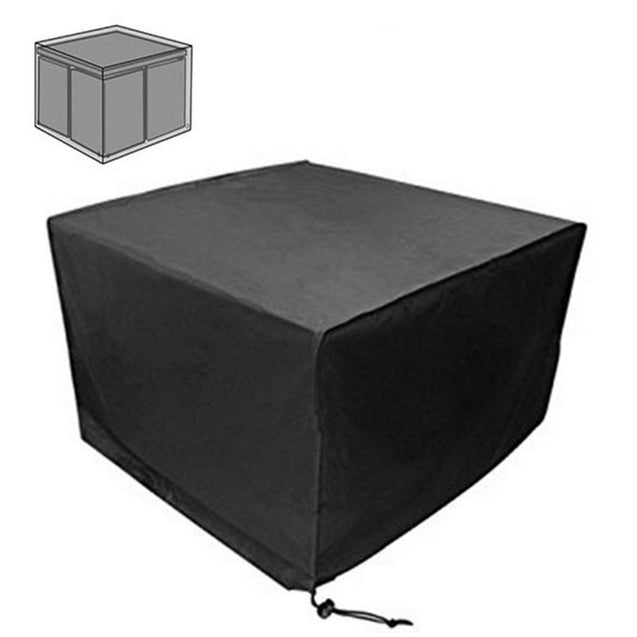 IPRee 160x160x84cm Outdoor Garden Patio Waterproof Cube Table Furniture Cover Shelter Protection