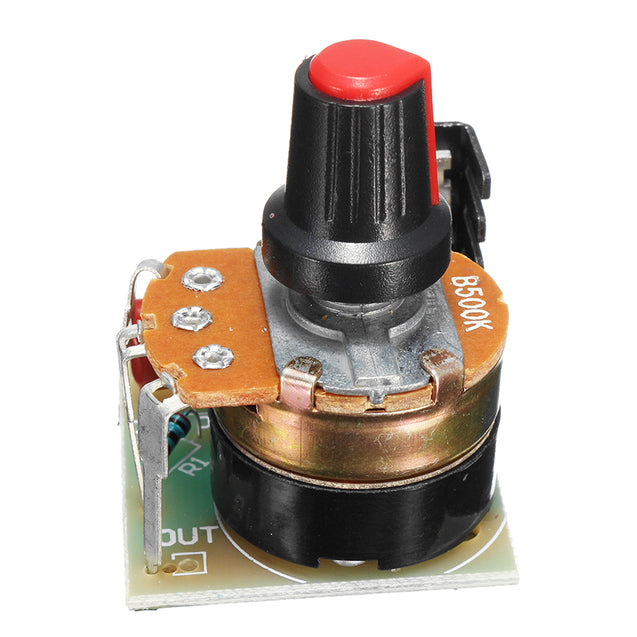 220V 500W Dimming Regulator Temperature Control Speed Governor Stepless Variable Speed