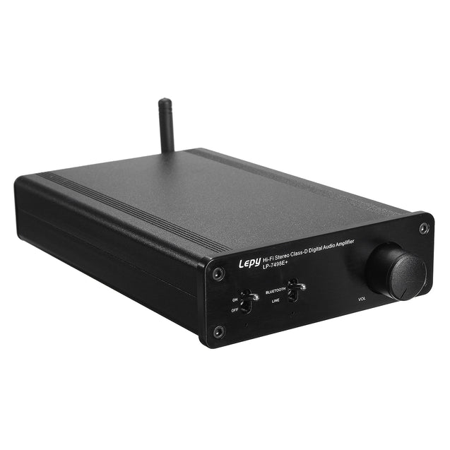 LEPY 7498E+ Wireless Bluetooth 4.0 Hi-Fi Stereo Class D Digital Audio Amplifier