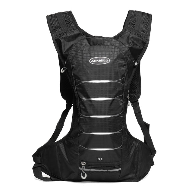 3L Outdoor Hiking Climbing Bags Cycling Black Backpack Running Cycling Vest Sports Camping Hydrate