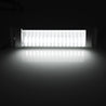 23CM 5W 72 LED White Interior Dome Lights Bar DC 24V 6000K White with Switch for Car Van RV Truck Trailer Boat