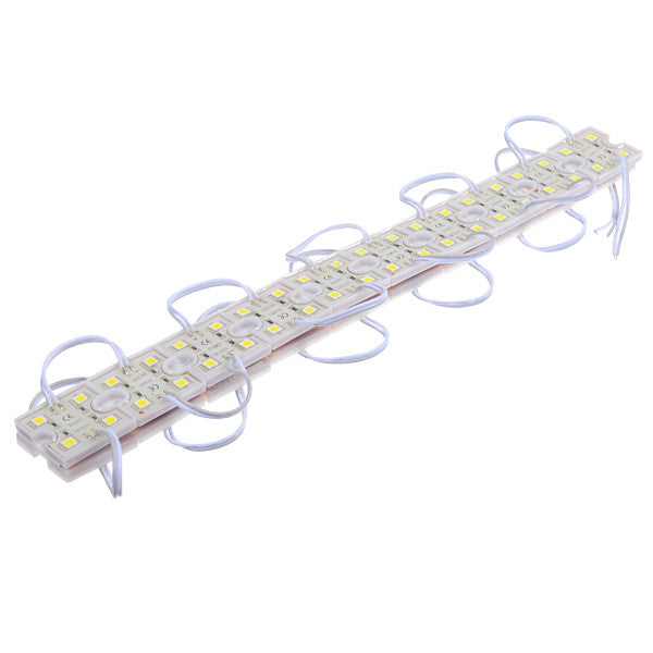 20PCS SMD5050 Cool White 80 LED Module Strip Light Rigid Bar Lamp For Signage Store Front DC12V