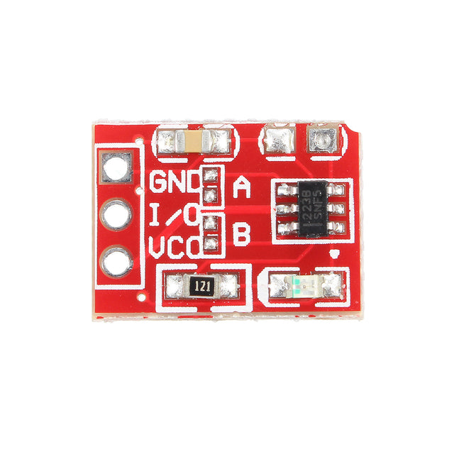 50pcs 2.5-5.5V TTP223 Capacitive Touch Switch Button Self Lock Module For Arduino
