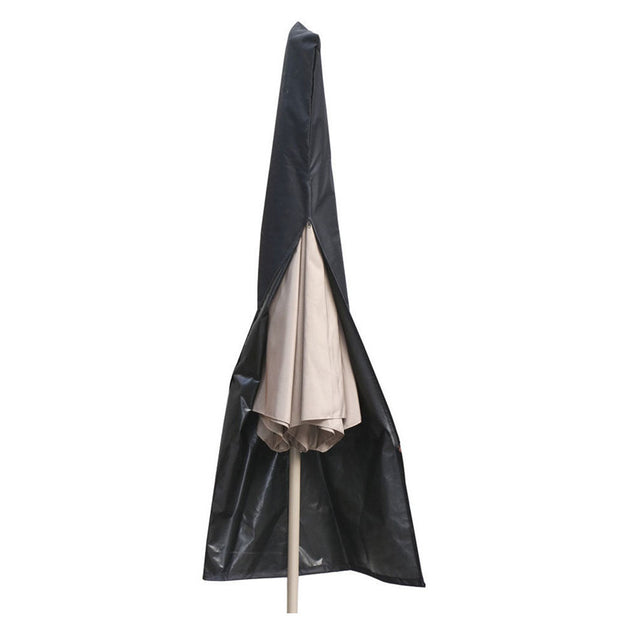 Outdoor Waterproof Patio Umbrella Canopy Cover Shade Protective Sunshade Sun Shelter Shed Zipper Bag