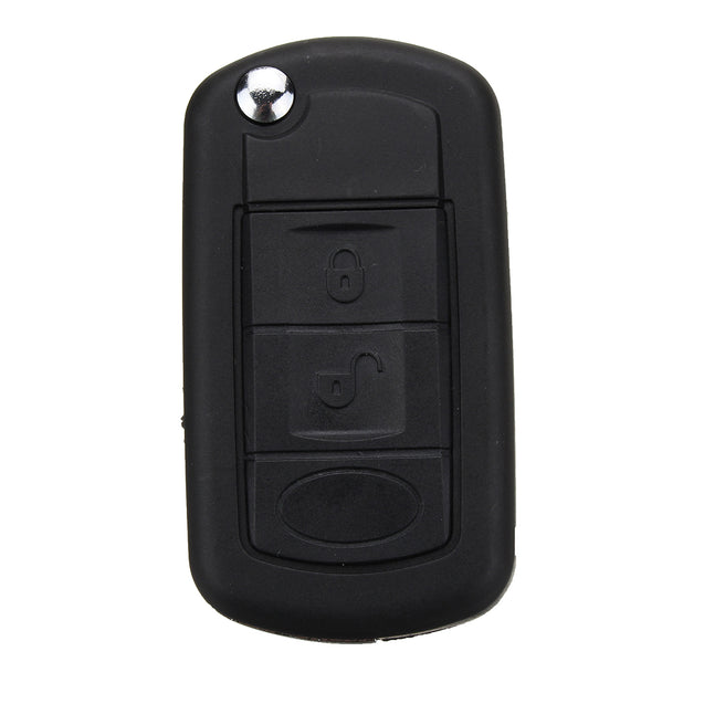 3 Buttons Remote Key Case Shell With VL2330 Battery For Land Rover Discovery