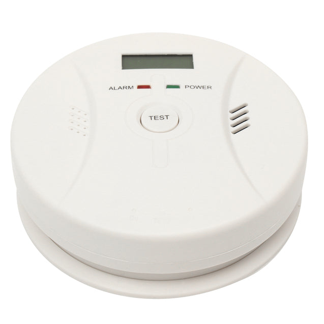CO Carbon Monoxide Detector Poisoning Smoke Fire Security Alarm Warning Sensor