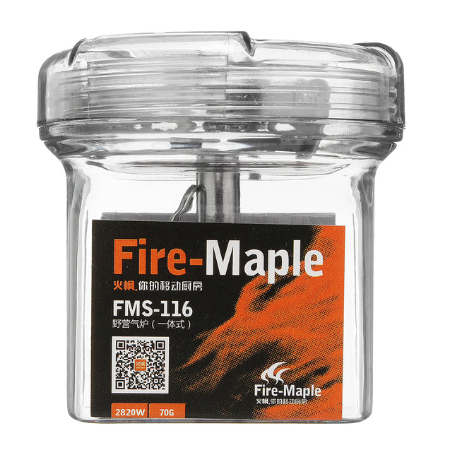 Fire-Maple Titanium Gas Cooking Stove Camp Picnic Cooker Mini Burner Furnace Ultralight 48g FMS-116