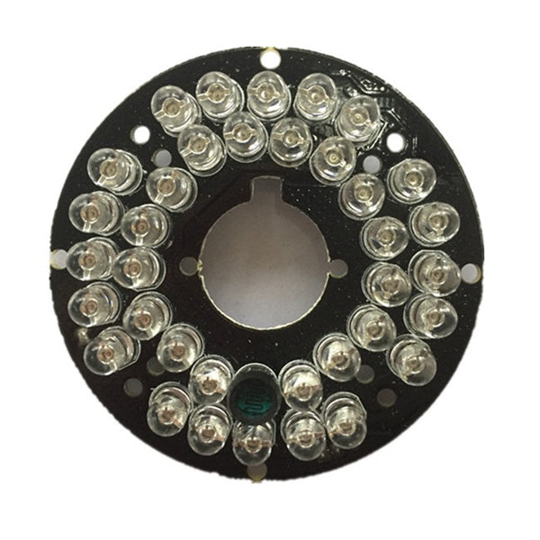 36 LED IR Lights 850nm Width Conch Hemisphere Camera Infrared Illuminator Board