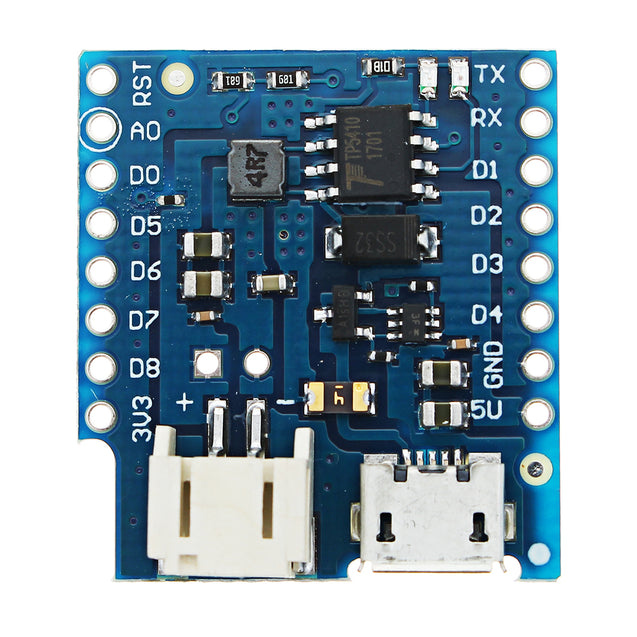 2pcs Wemos Battery Shield V1.2.0 For Wemos D1 Mini Single Lithium Battery Charging & Boost Module