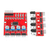 4 Channel Infrared Receiver Tracking Sensor Module IR Line Patrol For Arduino