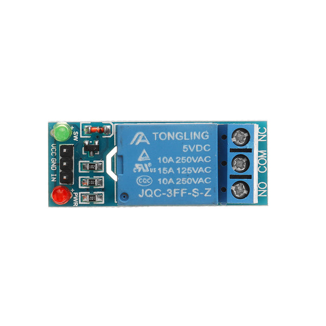 3pcs 5V Low Level Trigger One 1 Channel Relay Module Interface Board Shield DC AC 220V