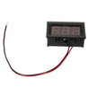 5pcs 3-30V DC 0.56 Inch Voltage Meter Board LED Amp Digital Voltmeter Measurement
