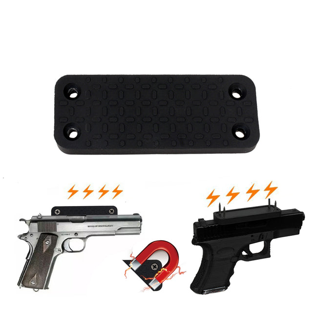 43BL Gun Magnet Holster Hunting Gun Rubber Coated Magnetic Stand Outdoor Hunting Gun Accessories