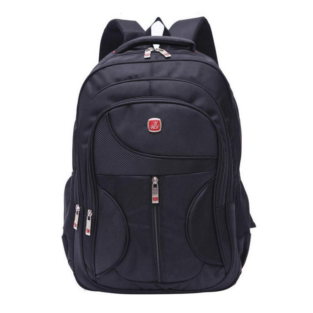 IPRee 15.6inch Waterproof Laptop Backpack Nylon Business Travel Rucksack