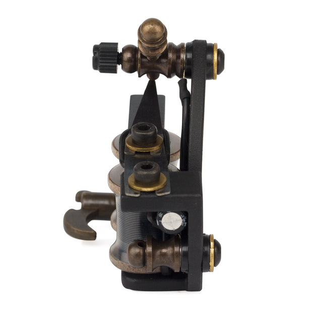 OCOOCOO Zuan ST100 Japan OFC Warps Coils Carved Iron Master Secant Tattoo Machine High Performance