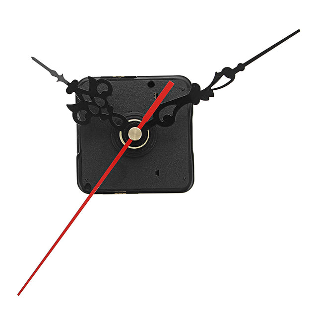 5Pcs 20mm Shaft Length DIY Silent Quartz Clock Movement Mechanism Replacement Repair Kit