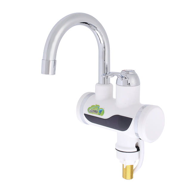 Temperature Display Instant Fast Heat Water Heater Tankless Durable Electric Hot Faucet