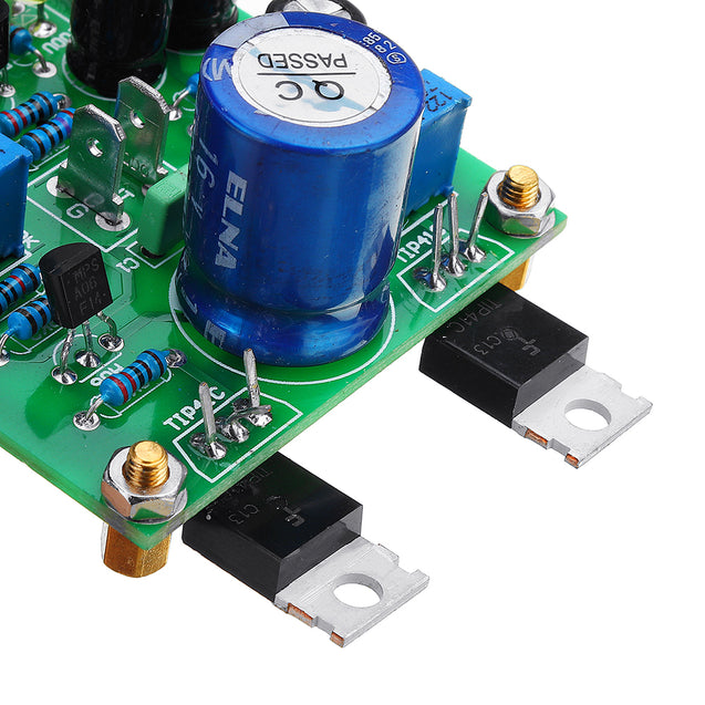 2Pcs Classical TIP41C-JLH1969 Class A Dual Channel Single-ended Audio Amplifier Board