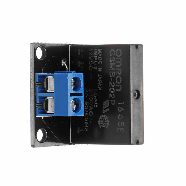 3pcs 1 Channel DC 12V Relay Module Solid State Low Level Trigger For Arduino 240V2A