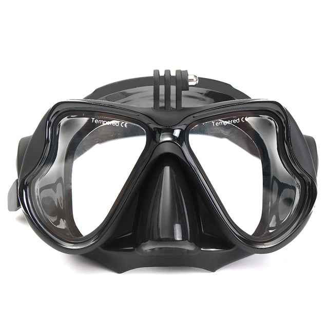 Camera Mount Diving Mask Oceanic Scuba Snorkel Swimming Goggles Glasses For GoPro Action Camera