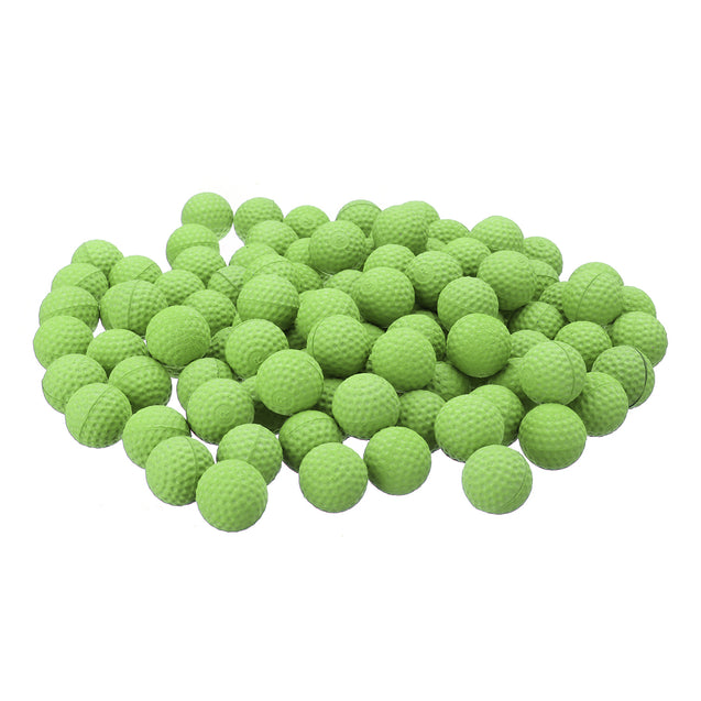 50Pcs Green Round Replace Ball for Nerf Rival Apollo Zeus Toy