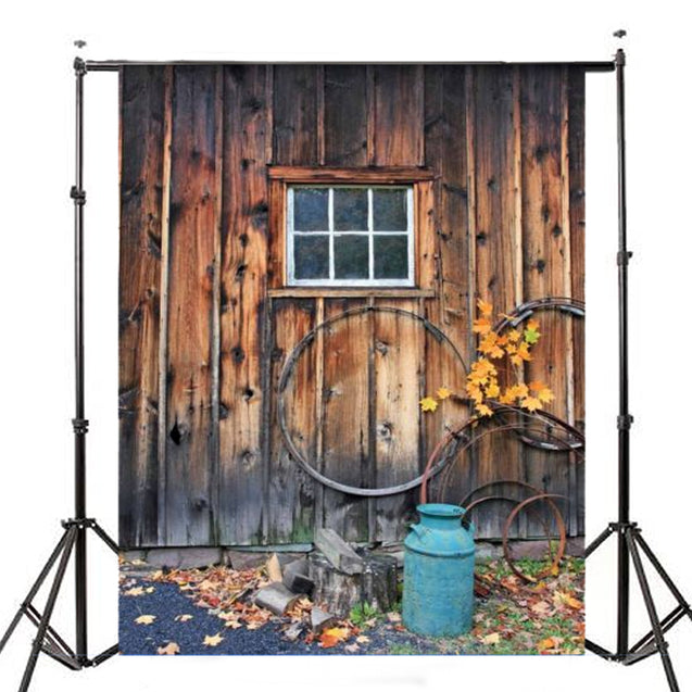 7x5ft Village Wood Lodge Theme Photography Vinyl Backdrop Studio Background 2.1m x 1.5m