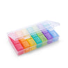 IPRee 7 Days Weekly Pill Case 21 Squares Travel Portable Medicine Storage Box Pill Container