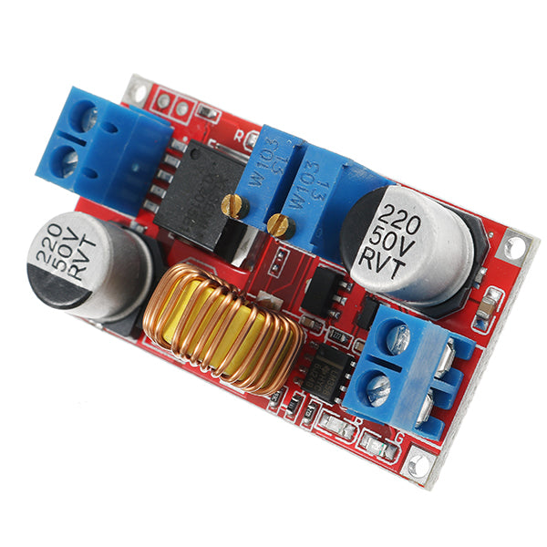 5pcs 1.25-36V 5A Constant Current Constant Voltage Lithium Battery Charger Step Down Power Module