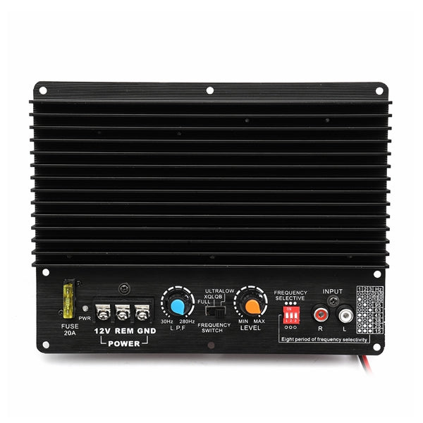 12V 800W Car Audio Amp Subwoofer Amplifier Board High Power Super Bass Player Board